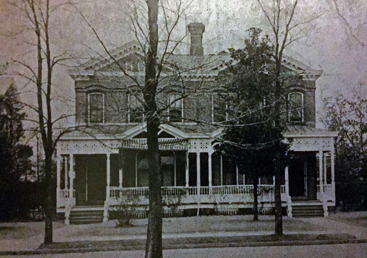 Staff Row Quarters circa 1915