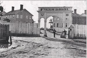 Early barracks