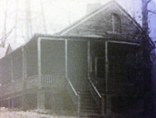 Post Hospital Steward Residence c1915
