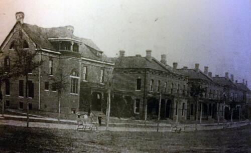 Staff Row c 1893